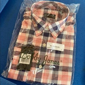 Bobby Jones Dress Shirt M NWT